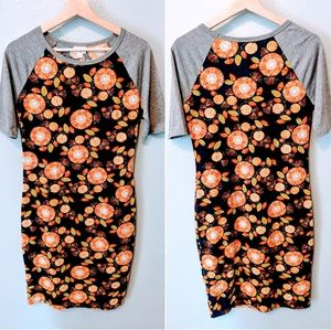 Lularoe Julia Baseball Tee Style Dress